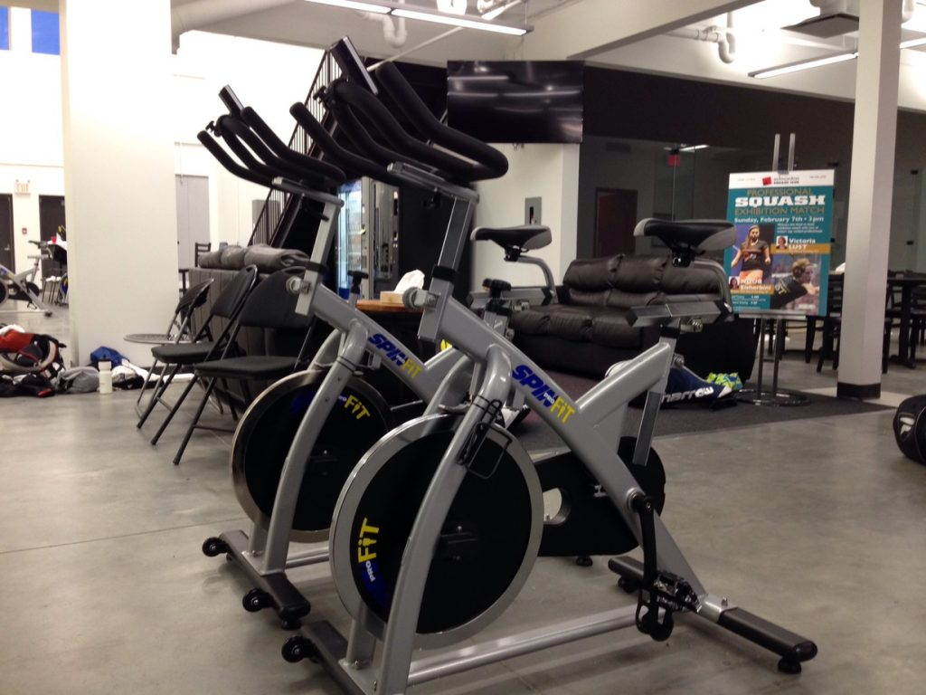 New Spin Bikes at the ESC