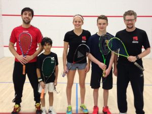 Mohammed, Molli and Josh at the Jesters Tournament