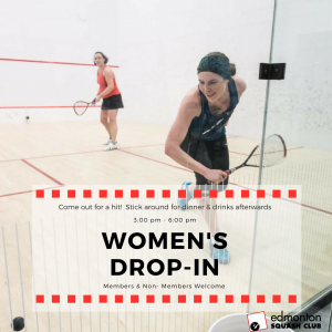 Eat, Drink & Play Squash Women's Event