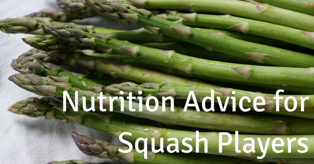 Squash-Specific Nutritional Advice From Overhaul Fitness